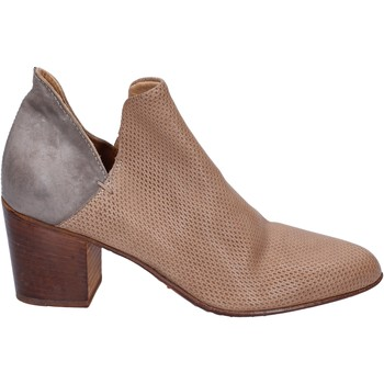 Chaussures Femme Low boots Moma bottines cuir gris
