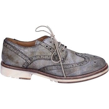 Chaussures Femme Derbies Moma BR982 gris
