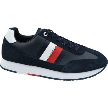 Chaussures Homme Derbies & Richelieu Tommy Hilfiger Corporate Leather Flag Runne
