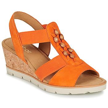 Chaussures Femme Sandales et Nu-pieds Gabor KALINA Orange