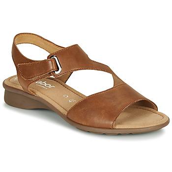 Chaussures Femme Sandales et Nu-pieds Gabor KESTE Cognac
