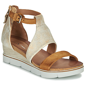 Chaussures Femme Sandales et Nu-pieds Dream in Green MARLEY Camel / Or