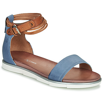 Chaussures Femme Sandales et Nu-pieds Dream in Green IRVANI Bleu