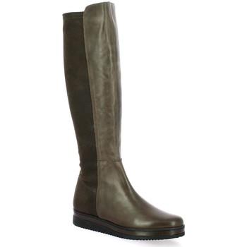 Chaussures Femme Bottes ville Elizabeth Stuart Bottes cuir Marron