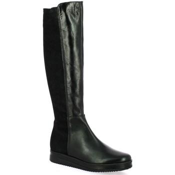 Chaussures Femme Bottes ville Elizabeth Stuart Bottes cuir Noir