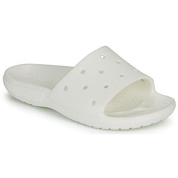 Chaussures Claquettes Crocs CLASSIC CROCS SLIDE Blanc