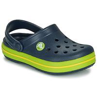 Chaussures Enfant Sabots Crocs CROCBAND CLOG K Marine / vert