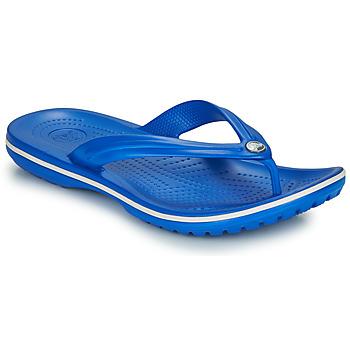 Chaussures Tongs Crocs CROCBAND FLIP Bleu