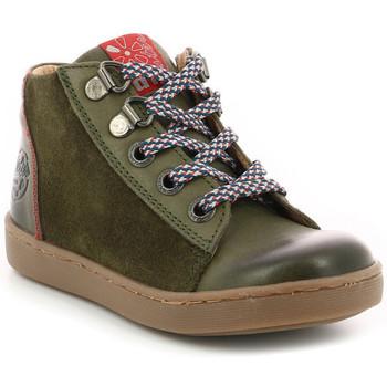 Chaussures Garçon Baskets montantes Aster Sieran KAKI