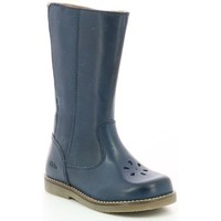 Chaussures Fille Bottes ville Aster Sendra MARINE