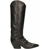 Chaussures Femme Bottes ville Halmanera BARON nero