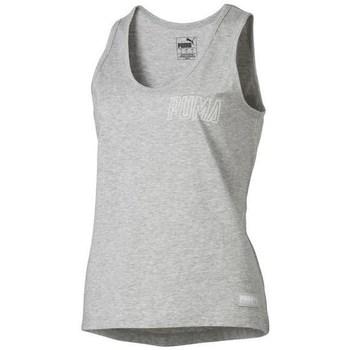 Vêtements Femme Débardeurs / T-shirts sans manche Puma Athletics Tank W Gris