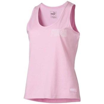 Vêtements Femme Débardeurs / T-shirts sans manche Puma Athletics Tank Rose