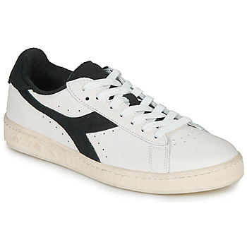 Chaussures Baskets basses Diadora GAME L LOW USED Blanc / noir
