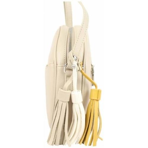 Fuchsia Sac bandoulière rond  Arton beige Multicolor 16477145