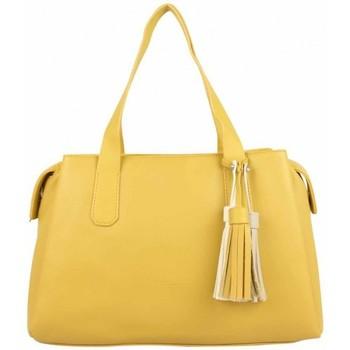 Sacs Femme Sacs porté main Fuchsia Sac à main L  Arton pompon jaune Multicolor