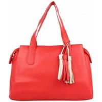 Sacs Femme Sacs porté main Fuchsia Sac à main L  Arton pompon rouge Multicolor
