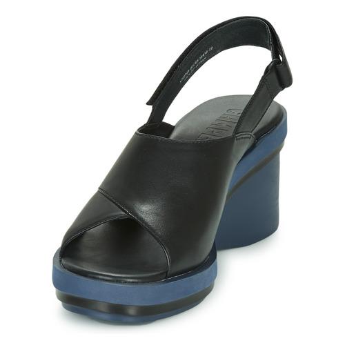 Kir0 Camper Sandales Et Nu-pieds Femme Noir YI8Eoj6Z
