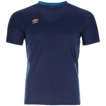 Vêtements Homme T-shirts manches courtes Umbro MAILLOT  POLY Bleu