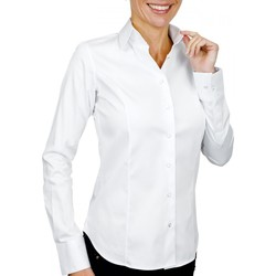 Vêtements Femme Chemises / Chemisiers Andrew Mc Allister chemise col italien portland blanc Blanc