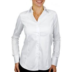 Vêtements Femme Chemises / Chemisiers Andrew Mc Allister chemise col italien cleveland blanc Blanc