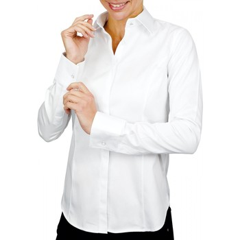 Vêtements Femme Chemises / Chemisiers Andrew Mc Allister chemise mousquetaire norfolk blanc Blanc
