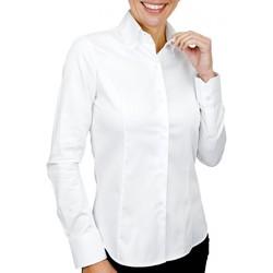 Vêtements Femme Chemises / Chemisiers Andrew Mc Allister chemise double col wichita blanc Blanc