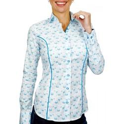 Vêtements Femme Chemises / Chemisiers Andrew Mc Allister chemise fantaisie passadena blanc Blanc