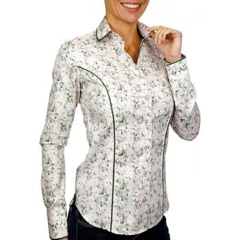 Vêtements Femme Chemises / Chemisiers Andrew Mc Allister chemise col rond passadena rose Rose