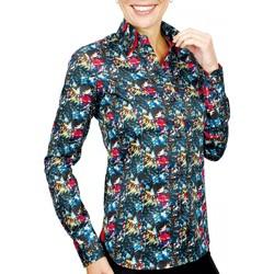 Vêtements Femme Chemises / Chemisiers Andrew Mc Allister chemise mode plymouth noir Noir