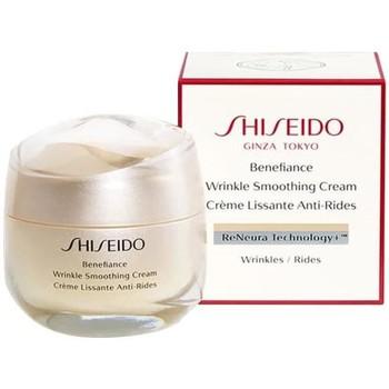 Beauté Femme Anti-Age & Anti-rides Shiseido benefiance wrinkle smoothing cream - 50ml - crème anti-rides benefiance wrinkle smoothing cream - 50ml - anti-wrinkle cream