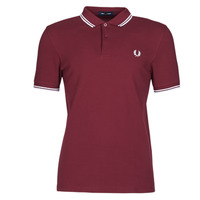 Vêtements Homme Polos manches courtes Fred Perry TWIN TIPPED FRED PERRY SHIRT Bordeaux