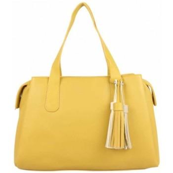Sacs Femme Sacs porté main Fuchsia Sac à main M  Arton pompon jaune Jaune