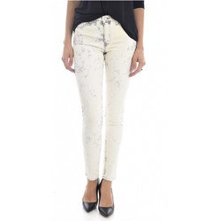 Vêtements Femme Jeans slim Mih Jean Printé Super Skinny Stretch The Bonn  - les BEIGES