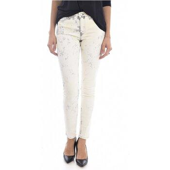 Vêtements Femme Jeans slim Mih Jean Printé Super Skinny Stretch The Bonn  - les BEIGES
