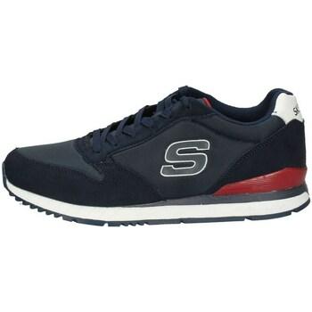 Chaussures Homme Baskets basses Skechers 52384/NVY bleu
