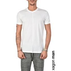 Vêtements Homme T-shirts manches courtes Xagon Man  Blanc