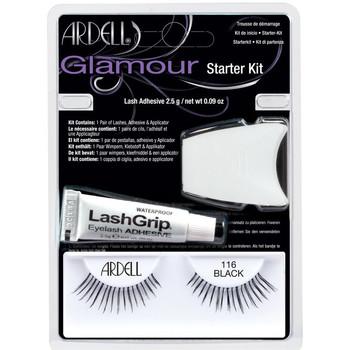 Beauté Femme Mascaras Faux-cils Ardell Kit Iniciacion Glamour 101-demi Black Coffret 3 Pz 3 u