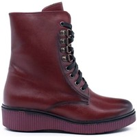 Chaussures Femme Bottines Wikers  Rojo