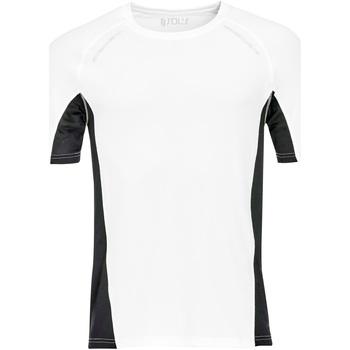 Vêtements Homme T-shirts manches courtes Sols SYDNEY MEN SPORT Blanco