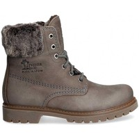 Chaussures Femme Boots Panama Jack FELICIA B17 Gris