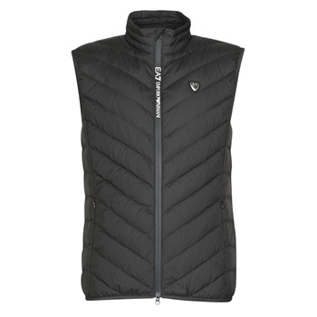 Vêtements Homme Doudounes Emporio Armani EA7 TRAIN CORE SHIELD M DOWN LIGHT VEST Noir