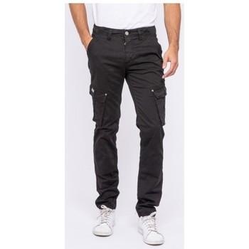 Vêtements Homme Pantalons Ritchie Pantalon battle VOANEL Noir