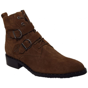 Chaussures Femme Boots Philippe Morvan swag Marron