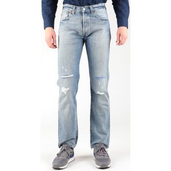 Vêtements Homme Jeans droit Levi's Levis 501-0605 niebieski