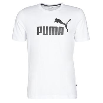 Vêtements Homme T-shirts manches courtes Puma ESSENTIAL TEE Blanc