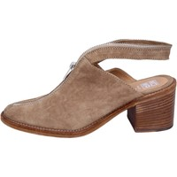 Chaussures Femme Sabots Moma BR994 Beige