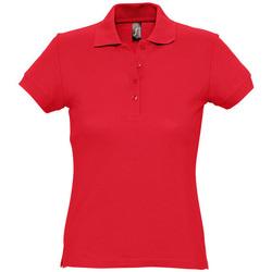 Vêtements Femme Polos manches courtes Sols PASSION WOMEN COLORS Rojo