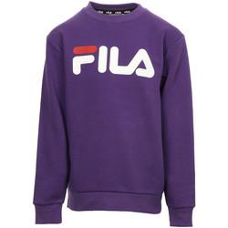 Vêtements Enfant Sweats Fila Classic Logo Crew Kids violet