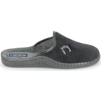 Chaussures Chaussons Boissy NELES Mule Noir Noir
